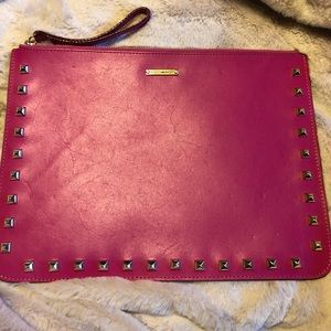 Rebecca Minkoff Leather iPad Case/Clutch New